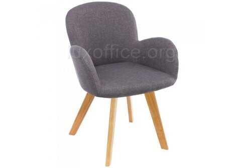 Asia wooden legs / grey fabric